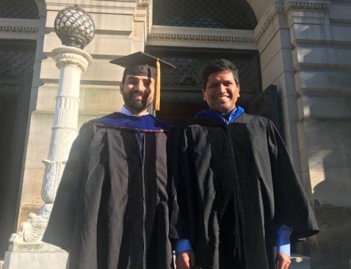 Sadeq Receives his PhD Degree!